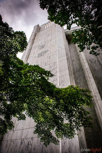 Portland Temple Wall