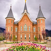 Provo City Center Temple - Springtime Vertical