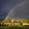 Double Rainbow - Provo City Center Temple