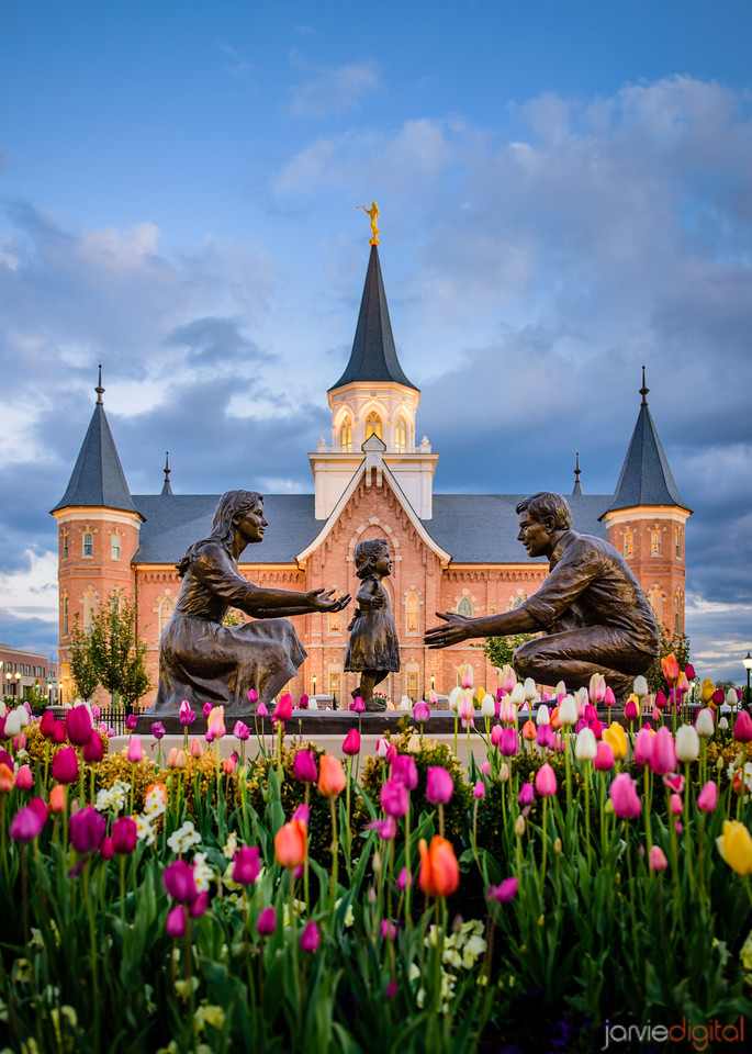 Provo City Center Temple - Family Time
