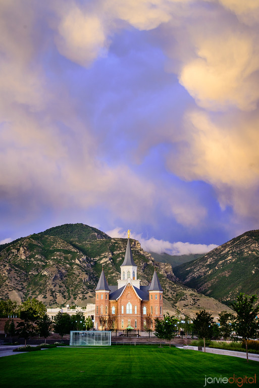 Blue Storm - Provo City Center Temple