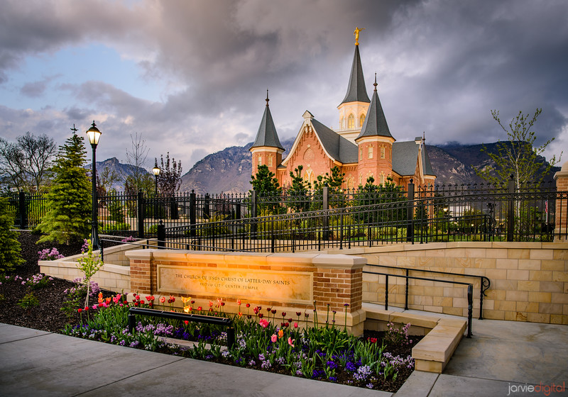 Provo City Center Temple - West Entrance
