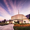 Provo Temple Sunrise Walkway
