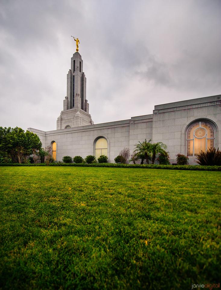 Redlands Temple Vertical