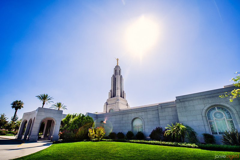 Redlands Temple Day