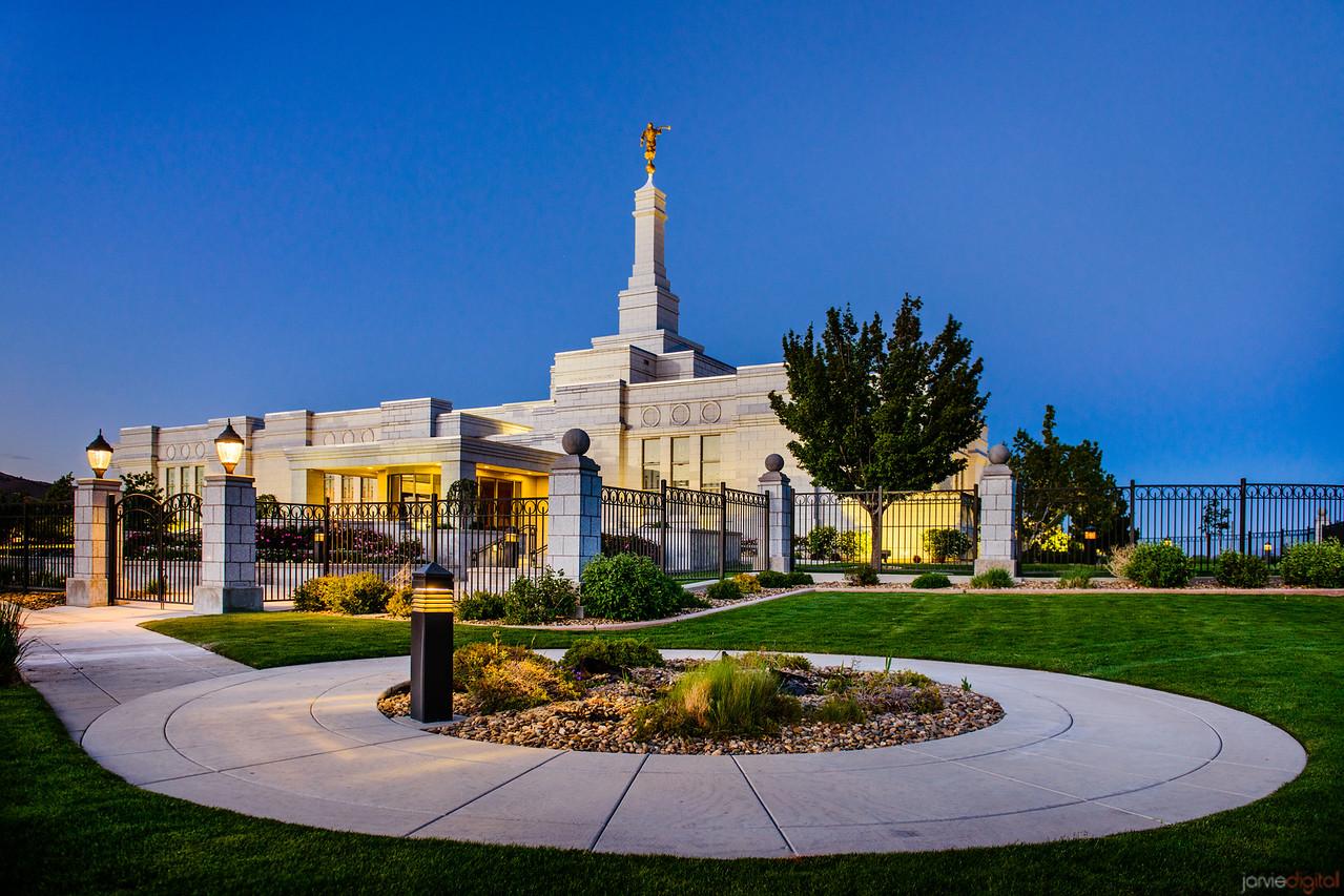 Reno Temple Rt Corner Blue