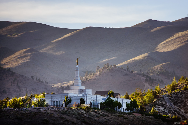 Reno Temple From Below