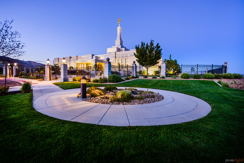Reno Temple Feature