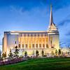 Rexburg Temple Twilight (Side)