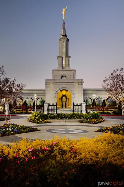 Sacramento Temple Vertical