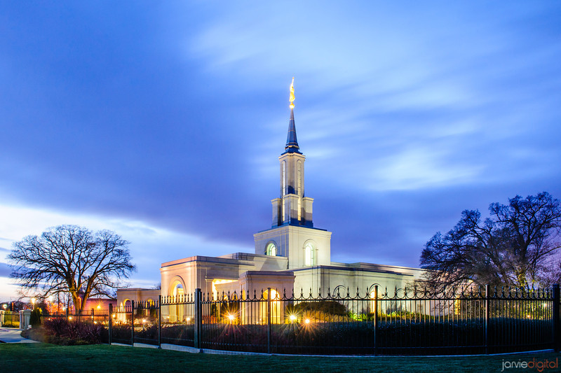 Sacramento Temple Twilight