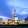 Sacramento Temple Twilight
