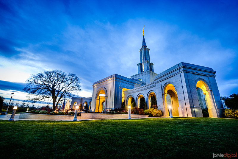 Sacramento Temple Sunset (Corner)