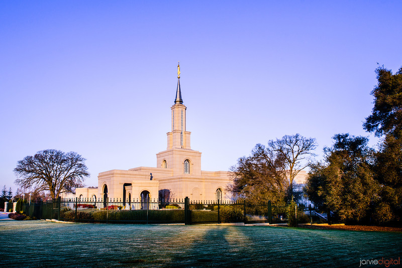 Sacramento Temple First Light