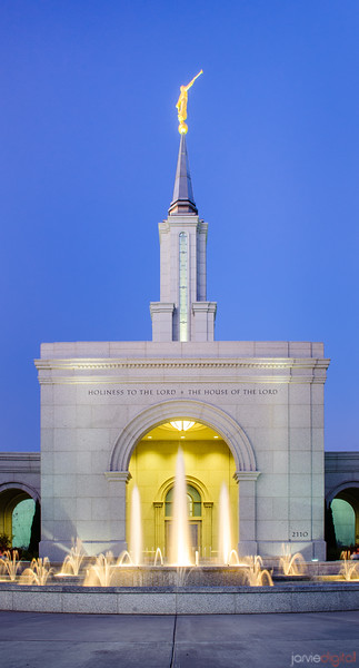 Sacramento Temple - Fountain