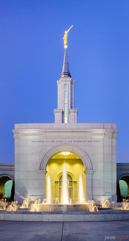 Sacramento Temple - Fountain