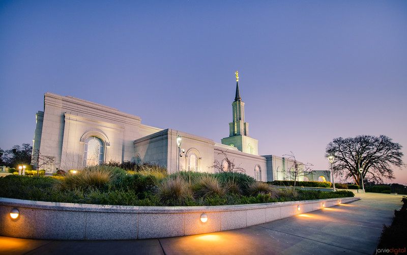 Sacramento Temple - Back