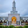 Sacramento Temple Front Vertical