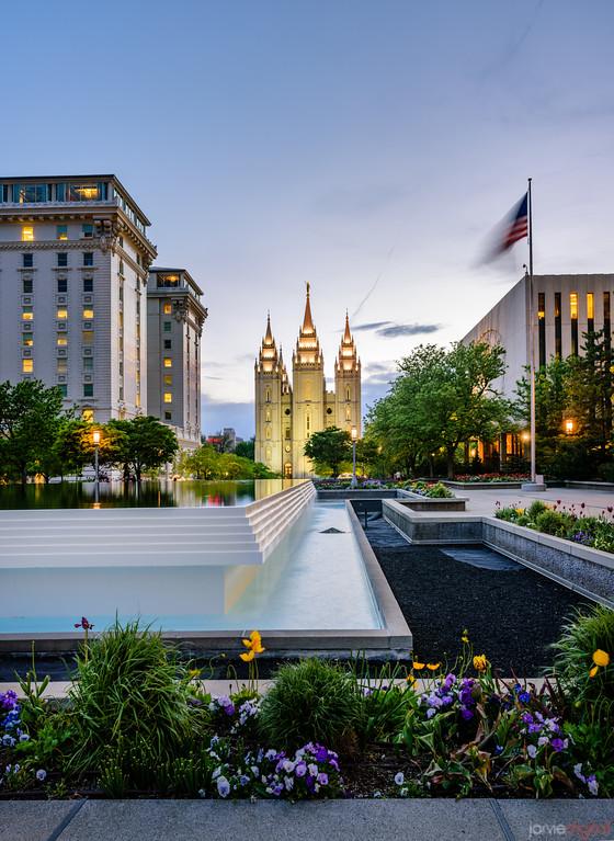 Salt Lake Temple - Part of a bigger picture