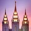 Salt Lake Temple - Spires