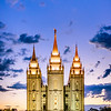 Salt Lake Temple - Standing Strong