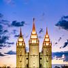 Salt Lake Temple - Standing Strong
