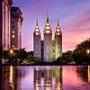 Salt Lake Temple - Reflection