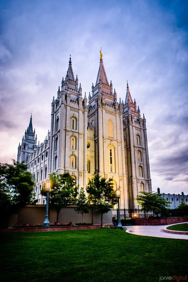 Salt Lake City LDS Temple - JarvieDigital Photography
