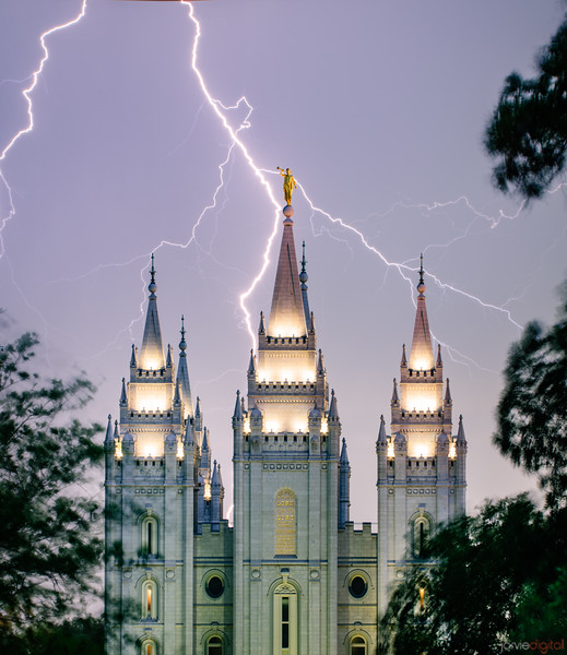 SLC Temple - Lighting