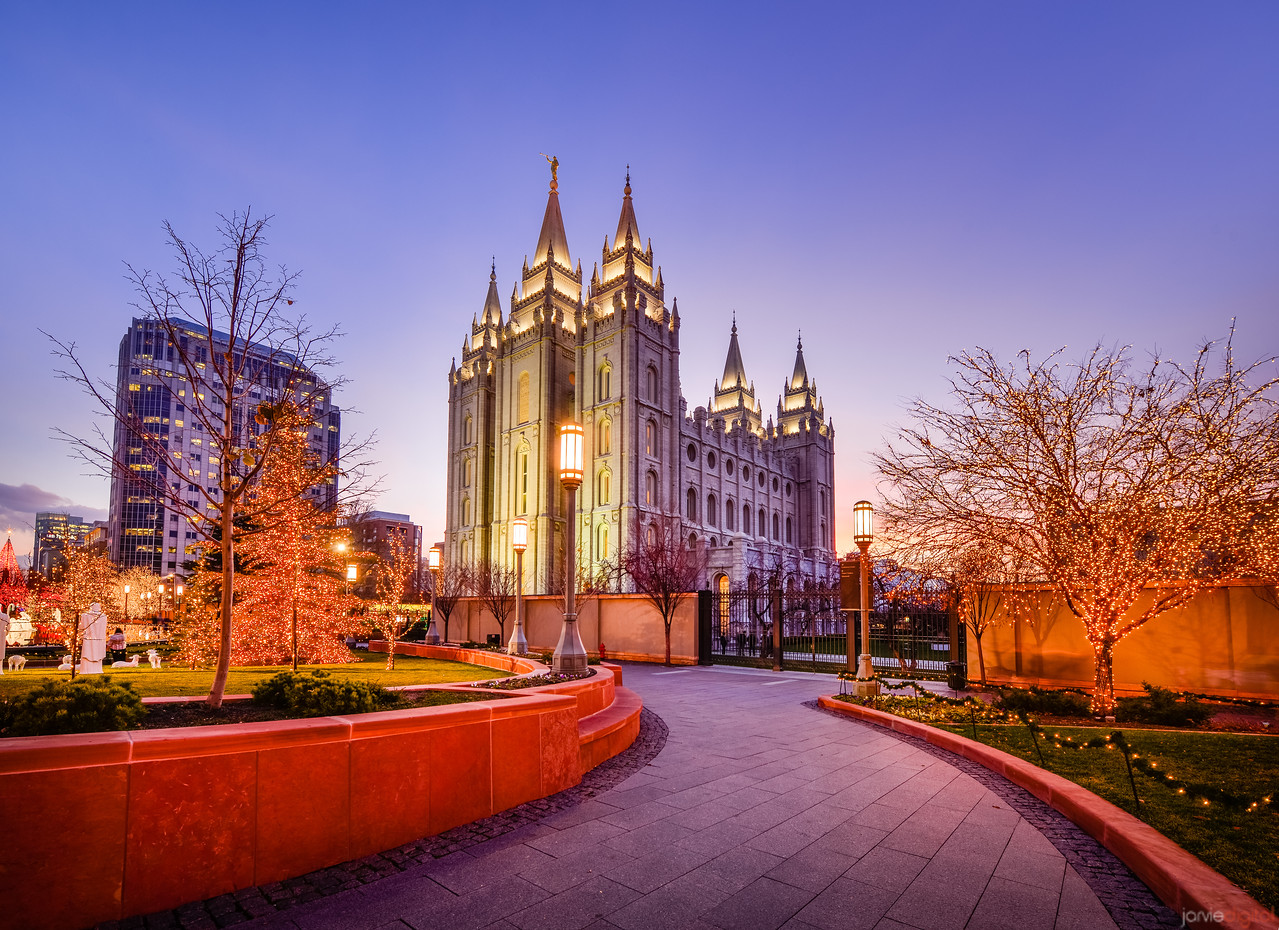 Salt Lake Temple - Christmas at Temple Square