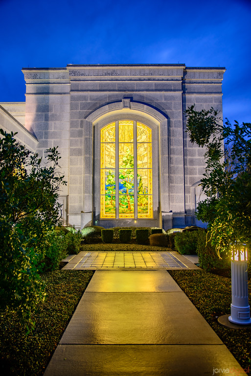 San Antonio Temple - Stain Glass