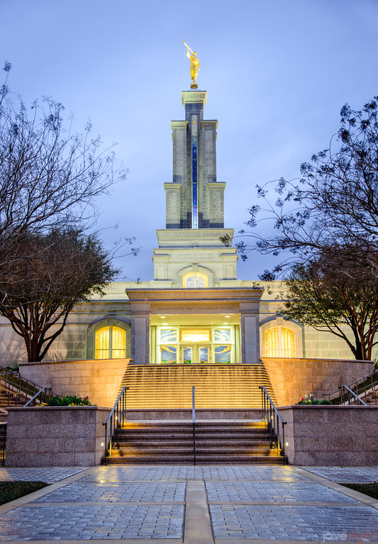 San Antonio Temple - Twilight