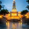 San Antonio Temple after Rain