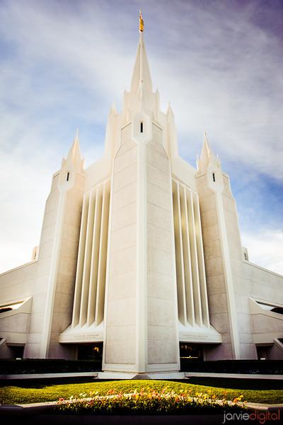 San Diego Temple Side