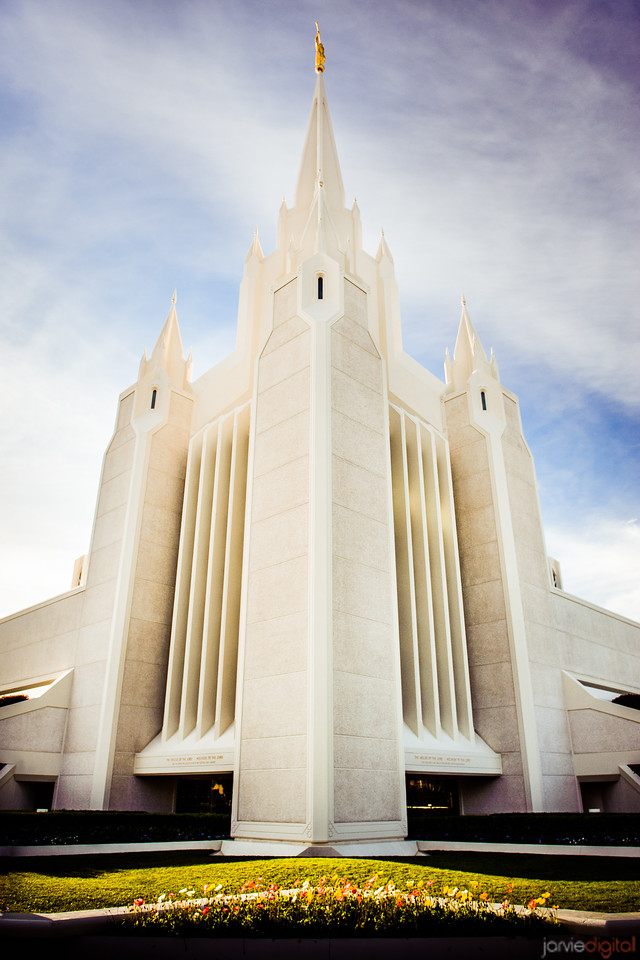 San Diego Temple Side