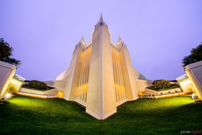 San Diegot Temple Looking Up