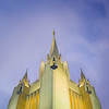 San Diego Temple - Up above