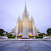 San Diego Temple From Parking Lot