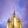 San Diego Temple - Twilight Vertical