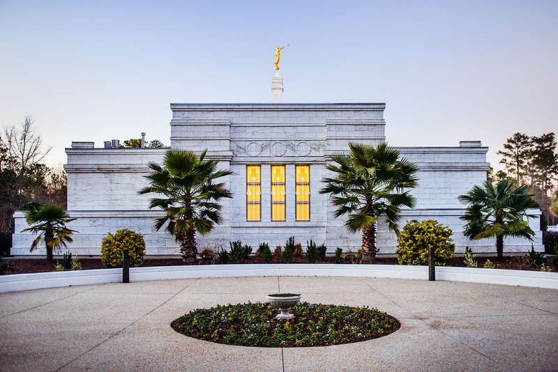 South Carolina Temple Side view