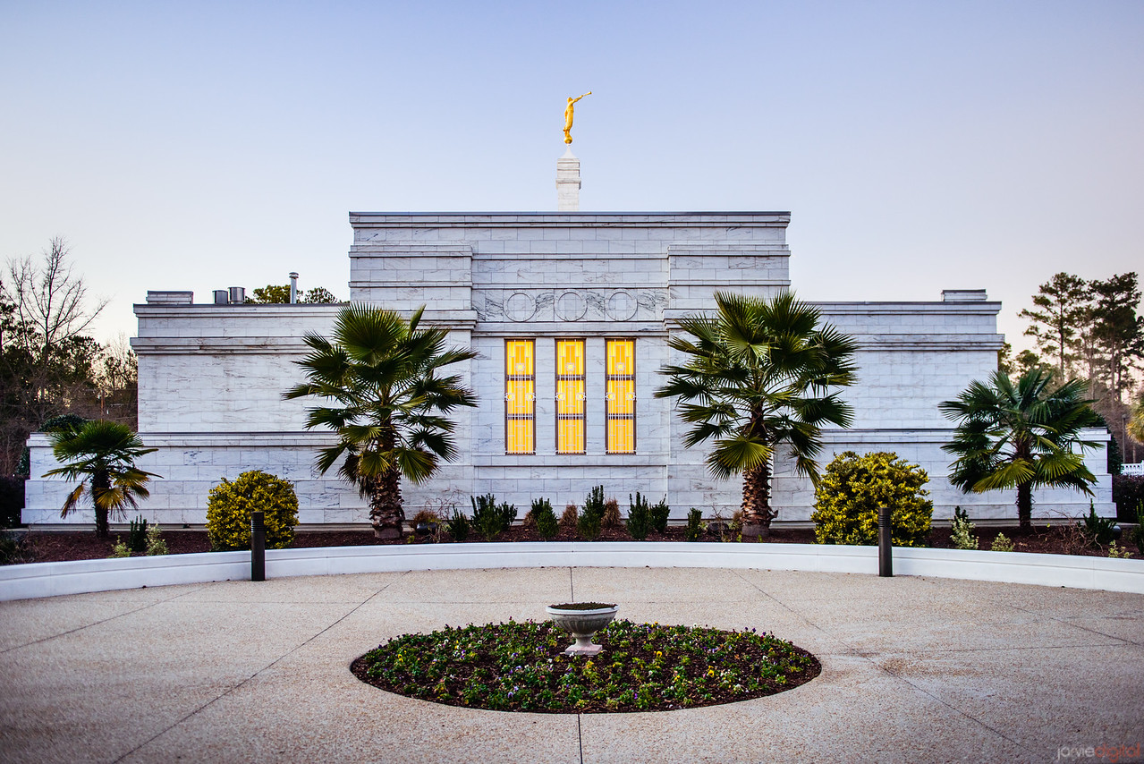 South Carolina Temple Side view