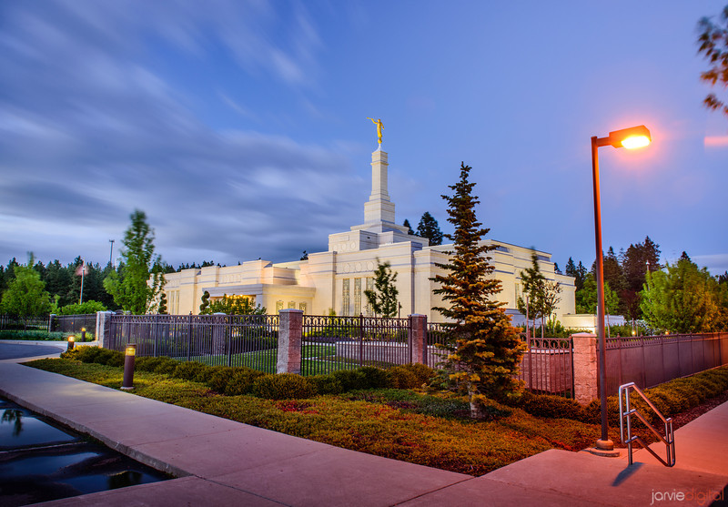 Spokane Temple Light