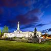 Spokane Temple Twilight (Back)
