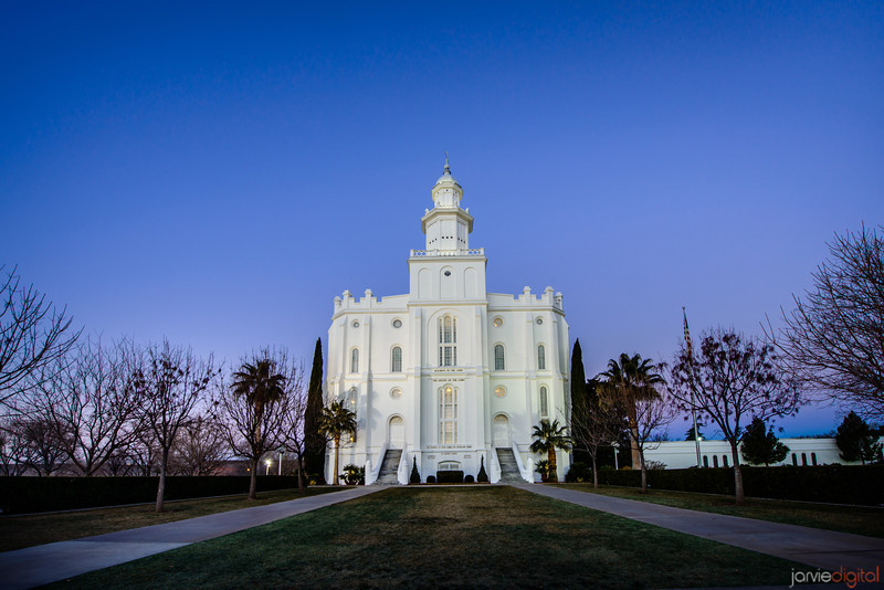 St George Temple Blue