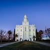 St George Temple Blue