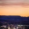 St George Temple Overlook Twilight