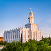 St George Temple - First light