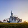 St Louis Temple Sunset