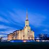 St Louis Temple Blue Skies