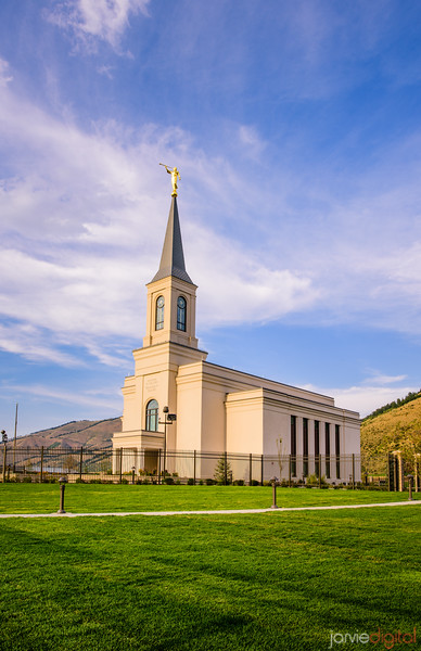 Star Valley Temple - Sunshine Glow